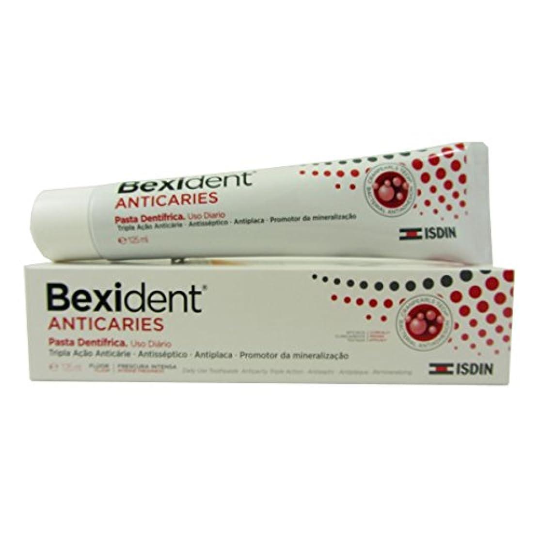 脱臼する生息地リビングルームBexident Anti Plaque Toothpaste 125ml [並行輸入品]