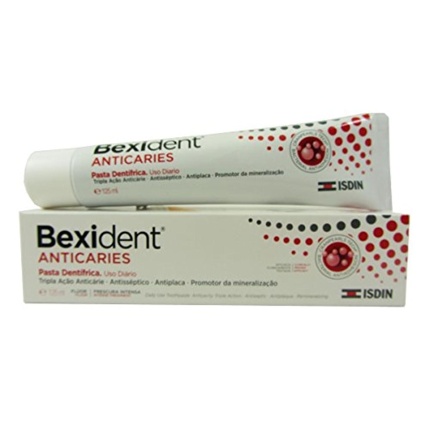 スクリーチ専ら対処するBexident Anti Plaque Toothpaste 125ml [並行輸入品]