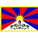 国旗 チベット 90×150cm