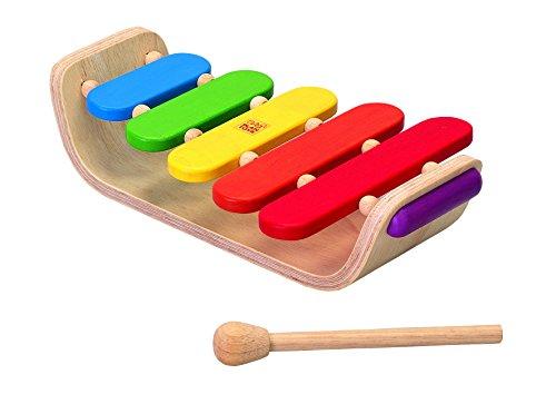 木のおもちゃ オーバルシロフォン