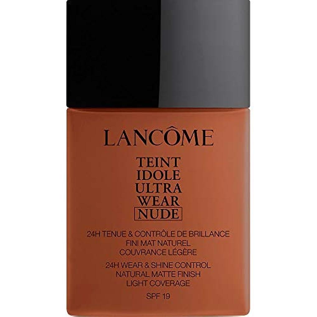 強要パール重要な役割を果たす、中心的な手段となる[Lanc?me ] ランコムTeintのIdole超摩耗ヌード財団Spf19の40ミリリットル13.1 - カカオ - Lancome Teint Idole Ultra Wear Nude Foundation SPF19...