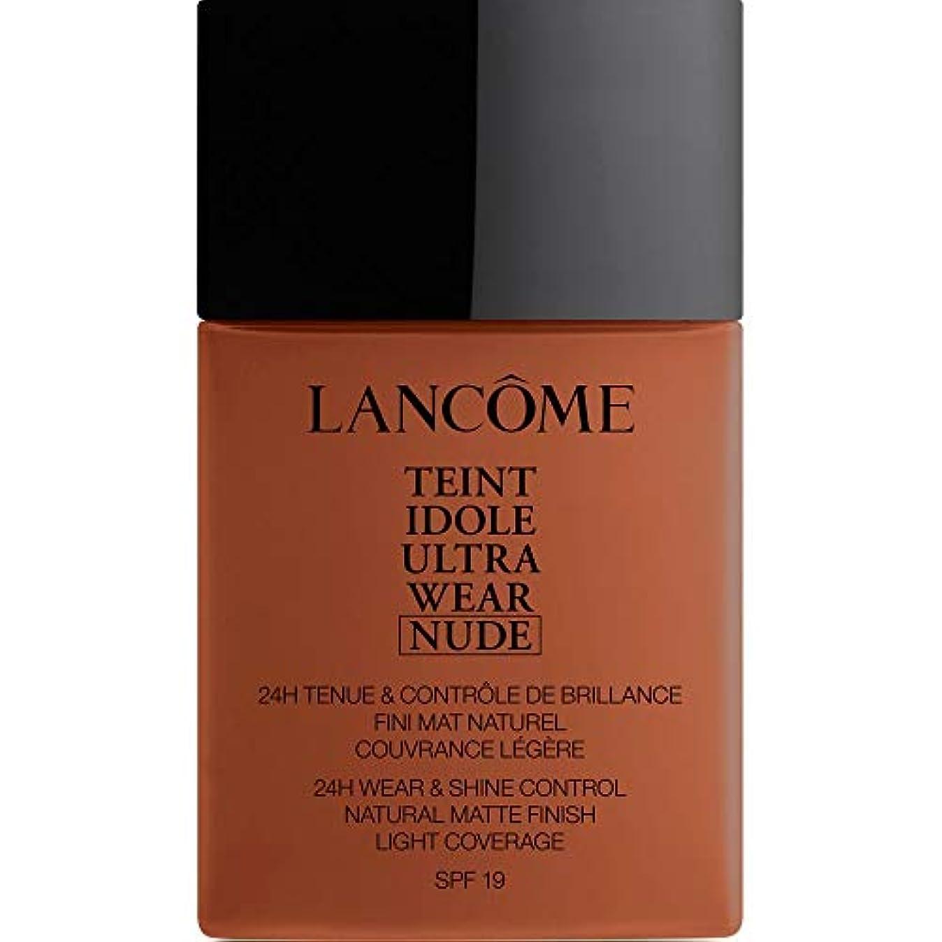 前売明確に破滅的な[Lanc?me ] ランコムTeintのIdole超摩耗ヌード財団Spf19の40ミリリットル13.1 - カカオ - Lancome Teint Idole Ultra Wear Nude Foundation SPF19...