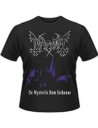 Mayhem メイヘム De Mysteriis Dom Sathanas 公式 メンズ ブラック 黒 Tシャツ