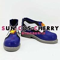 【サイズ選択可】コスプレ靴 ブーツ K-1620 血界戦線 レオナルド・ウォッチ Leonardo Watch 女性22CM