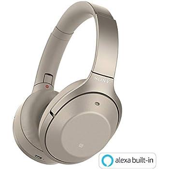 ソニー SONY ワイヤレスノイズキャンセリングヘッドホン WH-1000XM2 N : Bluetooth/ハイレゾ 最大30時間連続再生 密閉型 マイク付 2017年 シャンパンゴールド