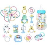 ハンドベルラトル赤ちゃん新生児臼歯 - 赤ちゃんのラトルとおもちゃのギフトセット ( Color : E )