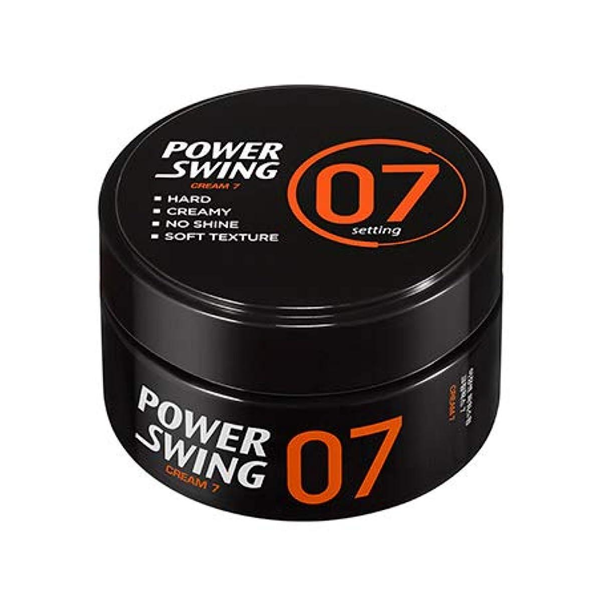 誇張第四不適当[ミジャンセン.miseenscene]パワースイングクリームワックス7(80g)/ Powerswing Cream Wax7