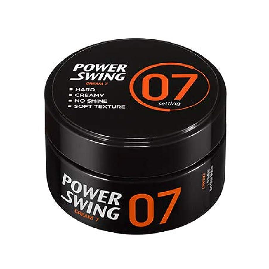 入場料弾薬法王[ミジャンセン.miseenscene]パワースイングクリームワックス7(80g)/ Powerswing Cream Wax7