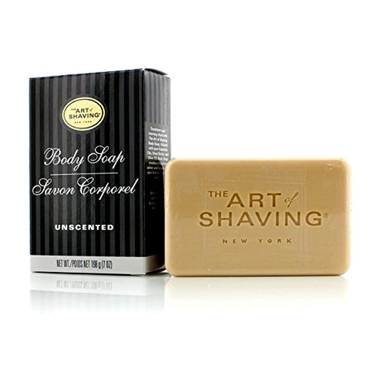 に頼るみ司書アートオブシェービング Body Soap - Unscented 198g/7oz並行輸入品