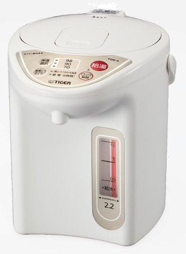 タイガー マイコン電気ポット 2.2L アーバンホワイト PDR-A220-WU
