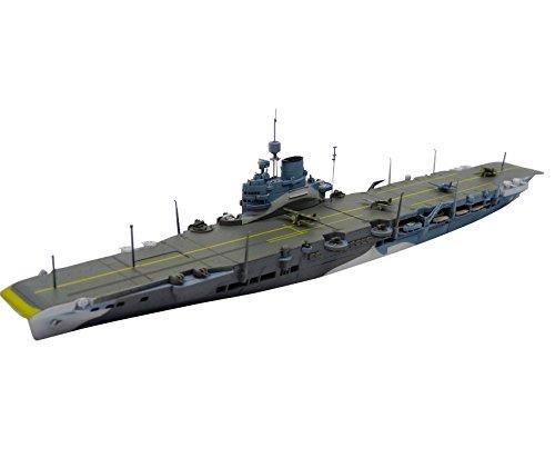 青島文化教材社 1/700 ウォーターラインシリーズ No.718 イギリス海軍 航空母艦イラストリアス プラモデル