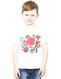 (グラニフ)graniph コラボレーションキッズTシャツ / きんぎょがにげたカバー ( 五味太郎 ) ( ホワイト )