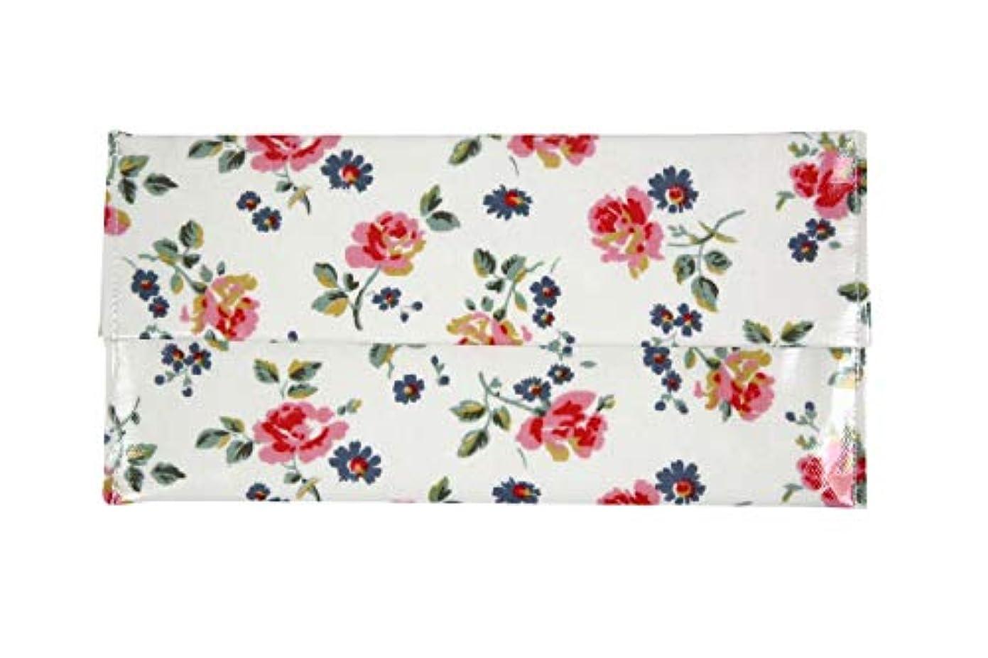 現代全く企業チェルシーオリジナル テッシュケース BOXサイズ (Cut Roses ホワイト) 手作り 日本製 花柄でバッグとおそろい?
