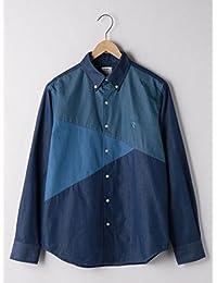 (コーエン) COEN ブロック切り替えボタンダウンシャツ 75106018020