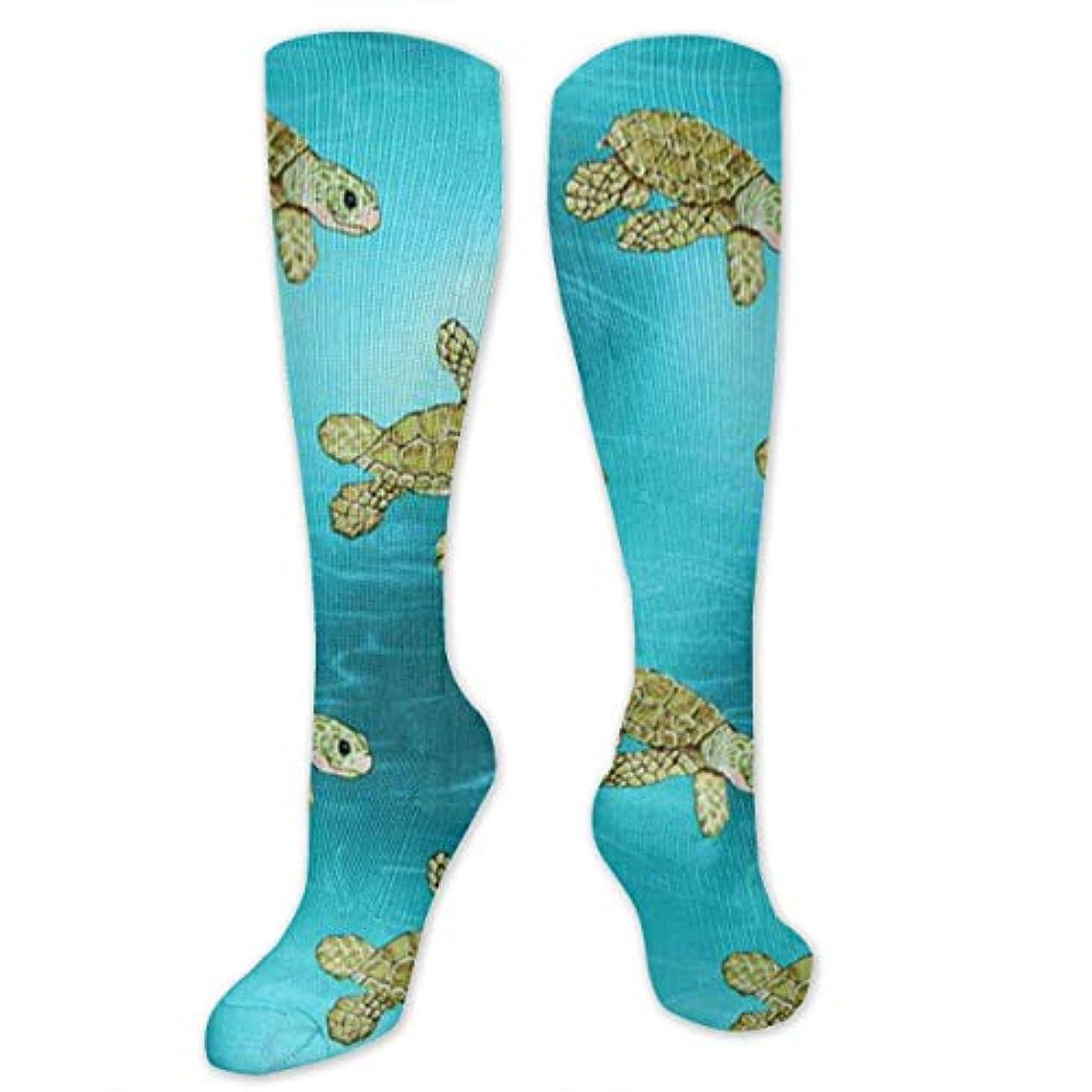 オーラル福祉首相靴下,ストッキング,野生のジョーカー,実際,秋の本質,冬必須,サマーウェア&RBXAA Surf Boys' Terrapin Turtle Socks Women's Winter Cotton Long Tube Socks...