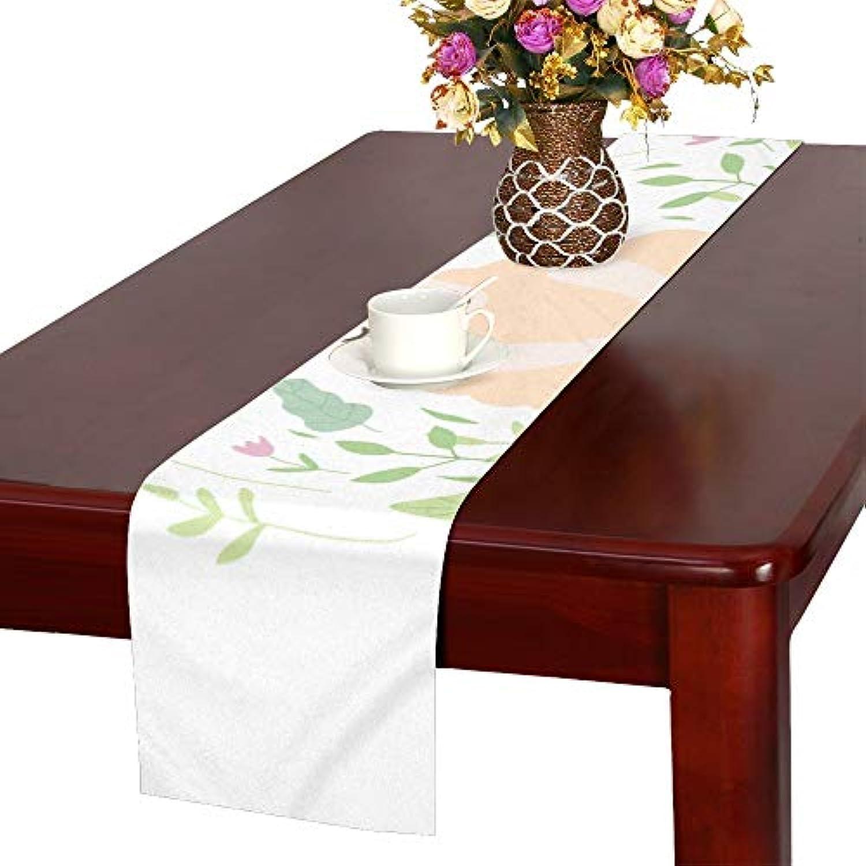 GGSXD テーブルランナー おかしい 羊 クロス 食卓カバー 麻綿製 欧米 おしゃれ 16 Inch X 72 Inch (40cm X 182cm) キッチン ダイニング ホーム デコレーション モダン リビング 洗える
