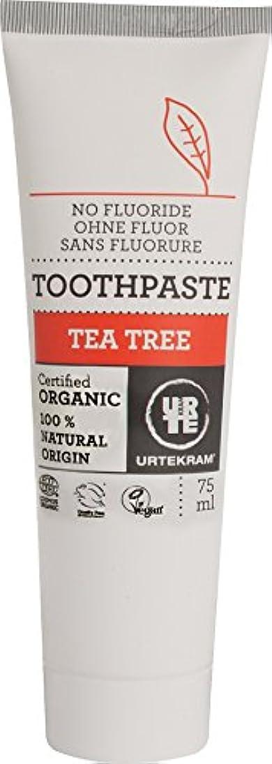 買収レイアウト要求ウルテクラム ティートリー 歯磨き 75ml