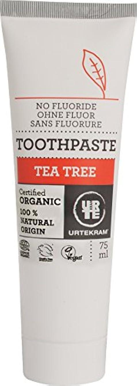 和解する職人十代ウルテクラム ティートリー 歯磨き 75ml