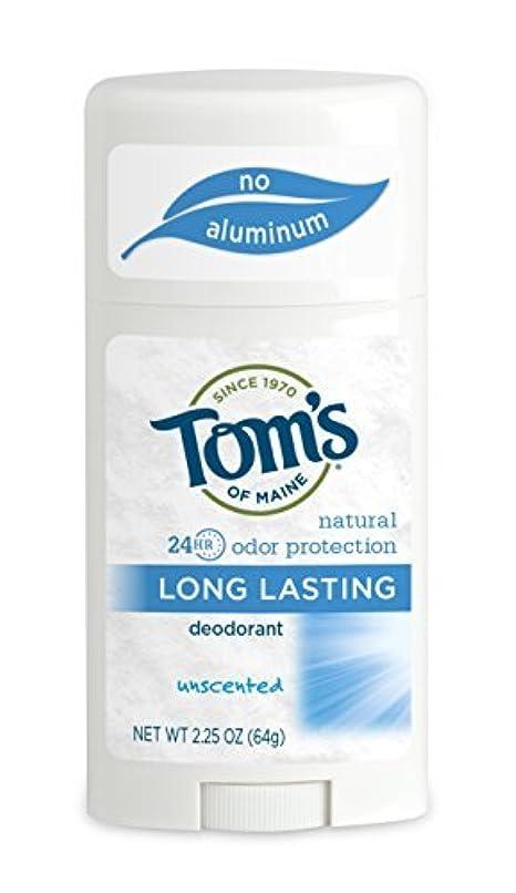 着陸恥ずかしい懐Tom's of Maine ナチュラルケアデオドラントスティック無香料2.25オズ(2パック)海外直送