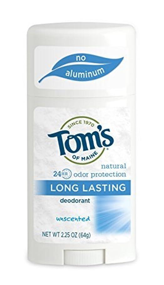 描写に関して学期Tom's of Maine ナチュラルケアデオドラントスティック無香料2.25オズ(2パック)