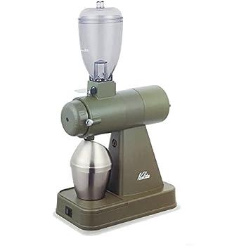 Kalita (カリタ) 業務用・電動コーヒーミル NEXT G KCG-17 お手入れ用品付 (アーミィグリーン)