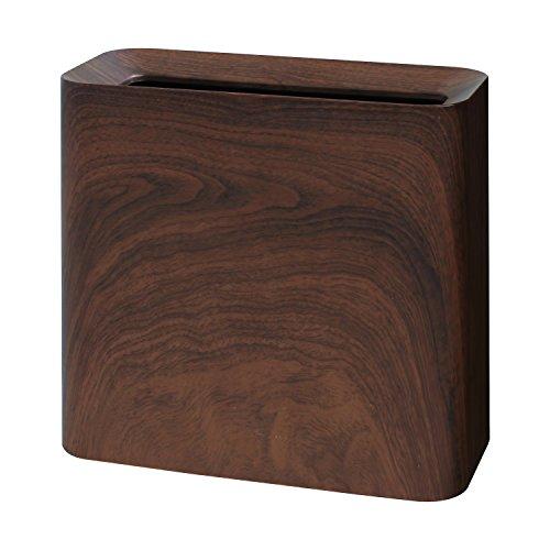 イデアコ ゴミ箱 チューブラー ハイグランデ ローズウッド 11.5L