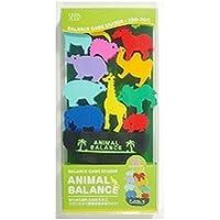 シード 消しゴム アニマルバランス 動物園 YR-700D (2パック)