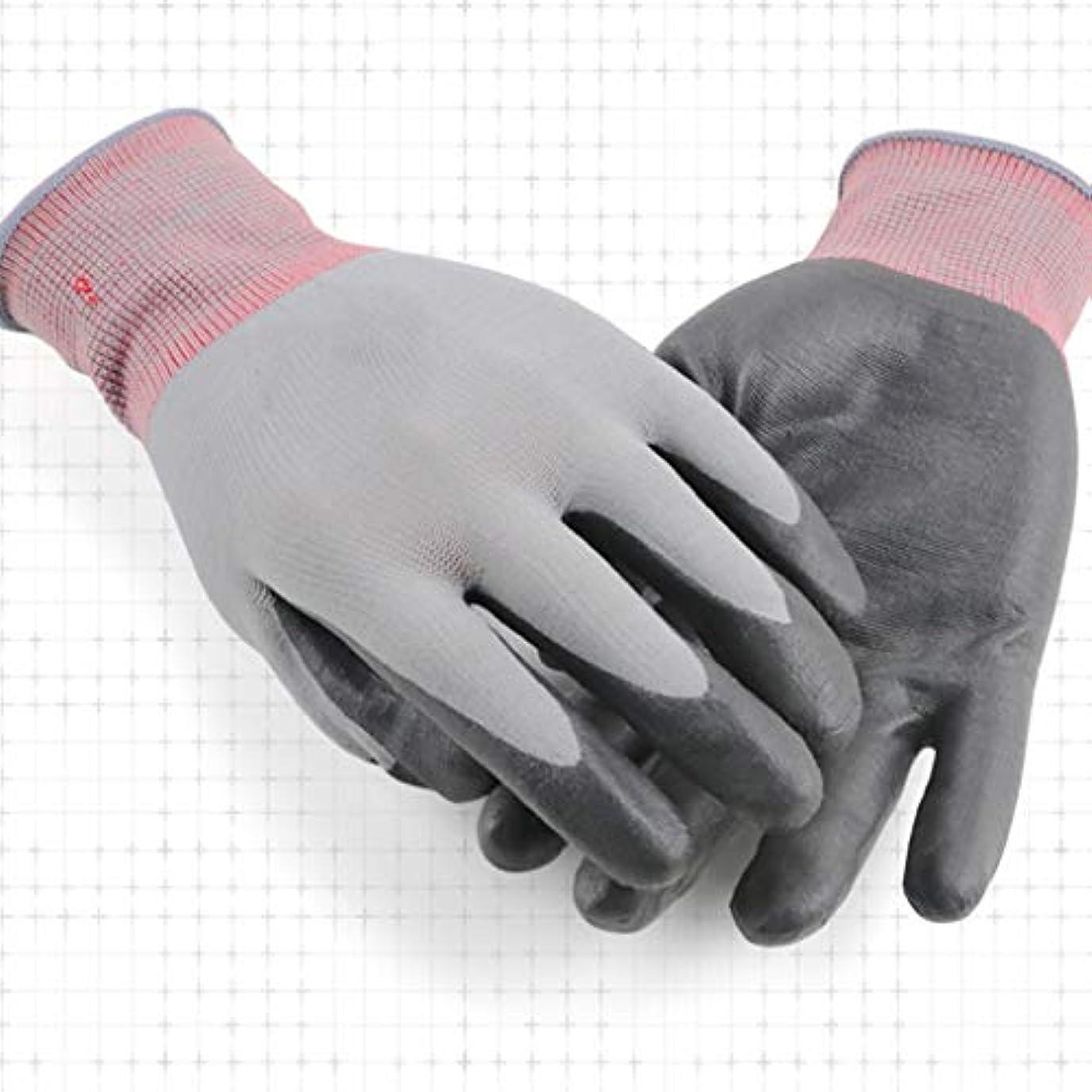 ほのめかすメダル生きるLIUXIN 労働保護手袋、突き刺さり防止の園芸用手袋、防水および抗強度、耐摩耗性および通気性、植付用保護手袋、マルチサイズオプション ゴム手袋 (Size : L)
