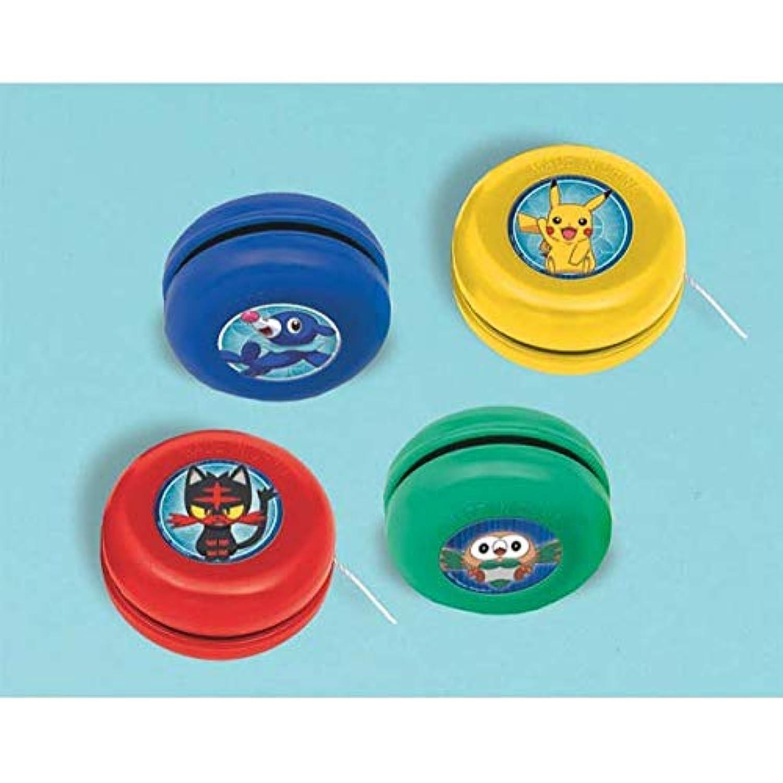 Pokemon Pikachu & Friends Yo-Yo Party Favors [12 per Pack]