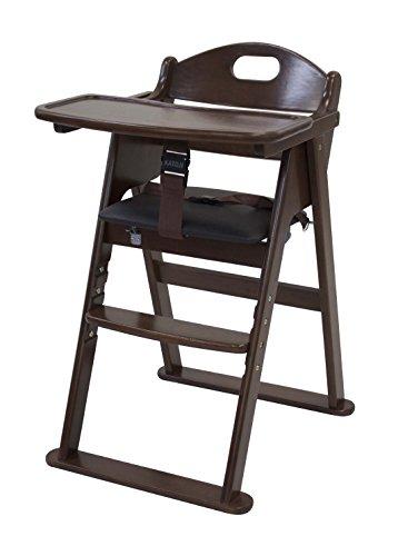 RoomClip商品情報 - カトージ 木製ワイドハイチェア ステップ切り替え ブラウン 22409