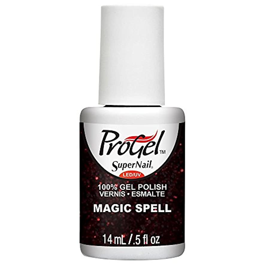 つまらないマネージャー伝染性SuperNail ProGel Gel Polish - Magic Spell - 0.5oz / 14ml