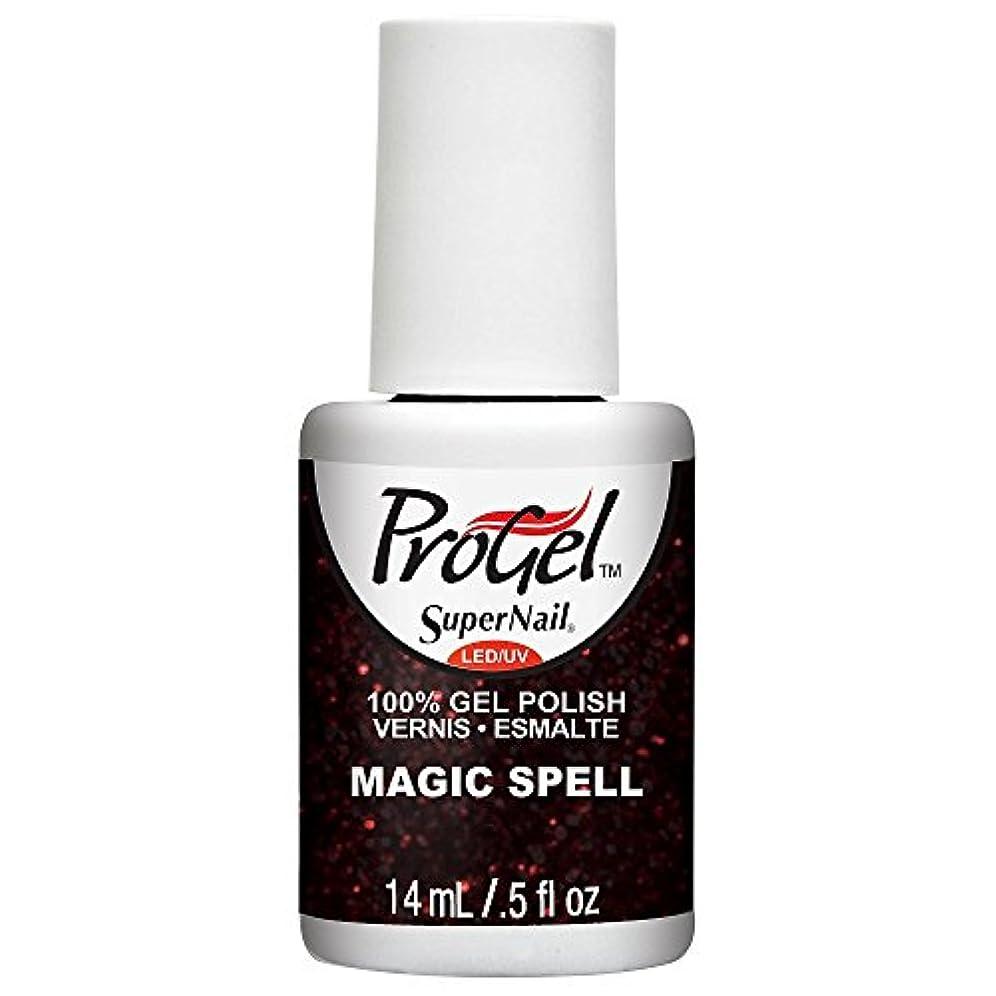 その欠かせないメインSuperNail ProGel Gel Polish - Magic Spell - 0.5oz / 14ml