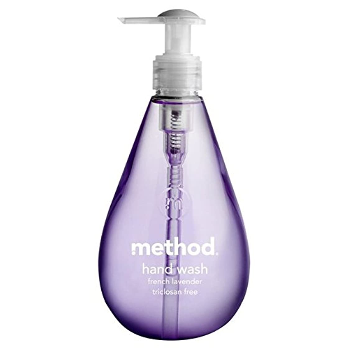 まつげウィスキー橋脚Method French Lavender Handsoap 354ml - メソッドフレンチラベンダーの354ミリリットル [並行輸入品]