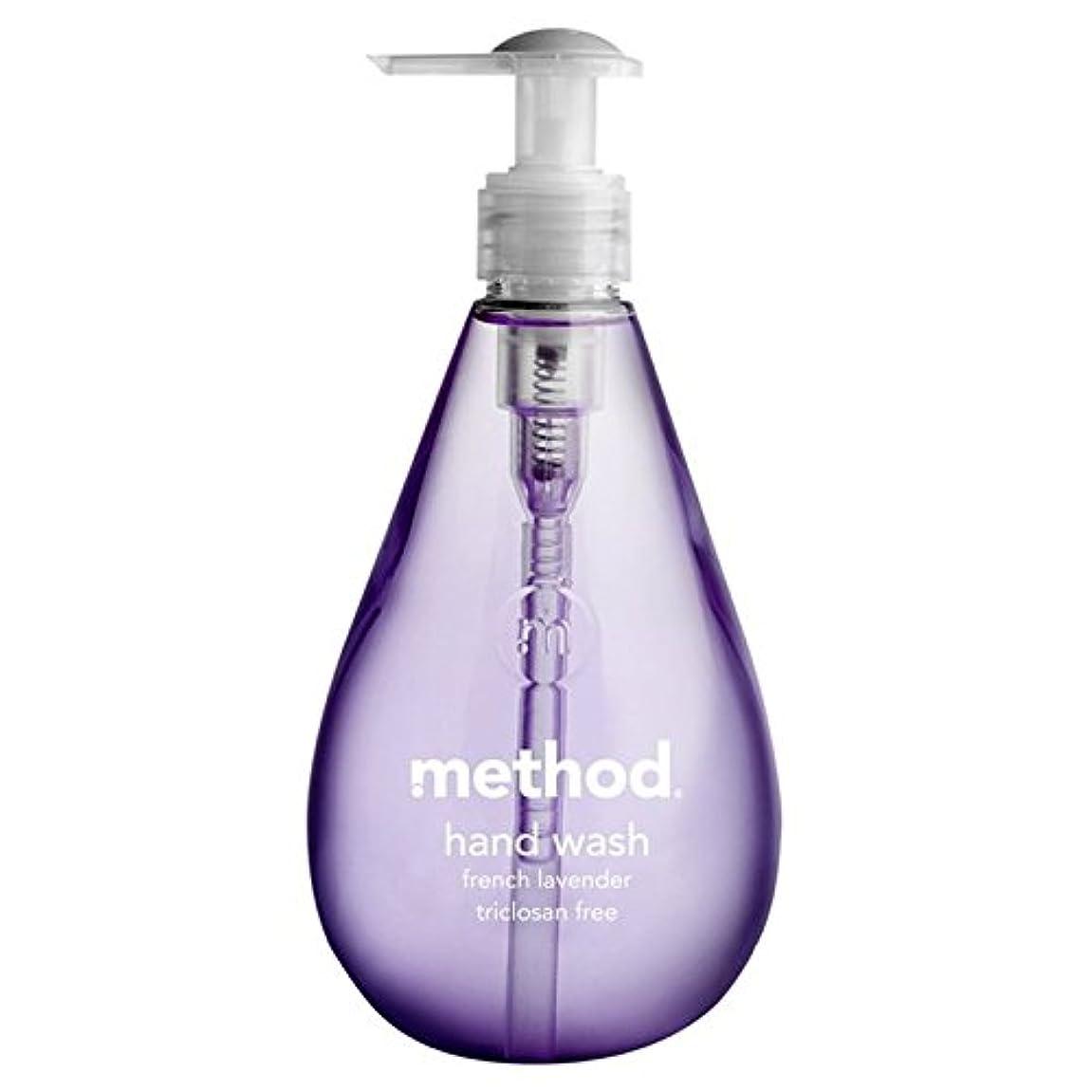目覚める洋服プラカードMethod French Lavender Handsoap 354ml - メソッドフレンチラベンダーの354ミリリットル [並行輸入品]