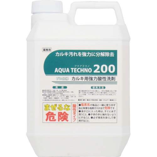 アクアテクノ200 カルキ用強力酸性洗剤 ボトル2l