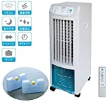 TEKNOS 冷風扇 冷却タンク リモコン付き スリムタイプ / 高性能 タワー型 冷風機 冷房器具 扇風機 卓上冷風機 ポータブルエアコン 小型クーラー 熱中症 暑さ対策 寝室