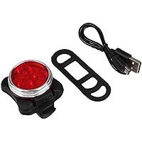 Beautyrain 1個 自転車の尾灯/警告灯 USB充電式 3モードLED赤色ライト