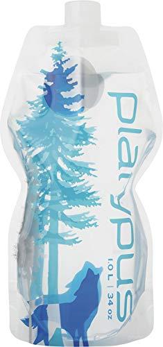 アウトドア 給水用 ソフトボトル ワイルドブルー 1.0L 日本正規品 25011