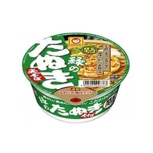 東洋水産マルちゃん緑のたぬき天そば(関西)1箱12食