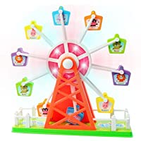 Ferrisホイール電子回転Merry Go Round Toy with音楽とライト