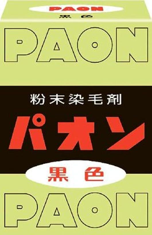川ジョージハンブリー輝く【10個セット】パオン 黒(6g)×10個セット