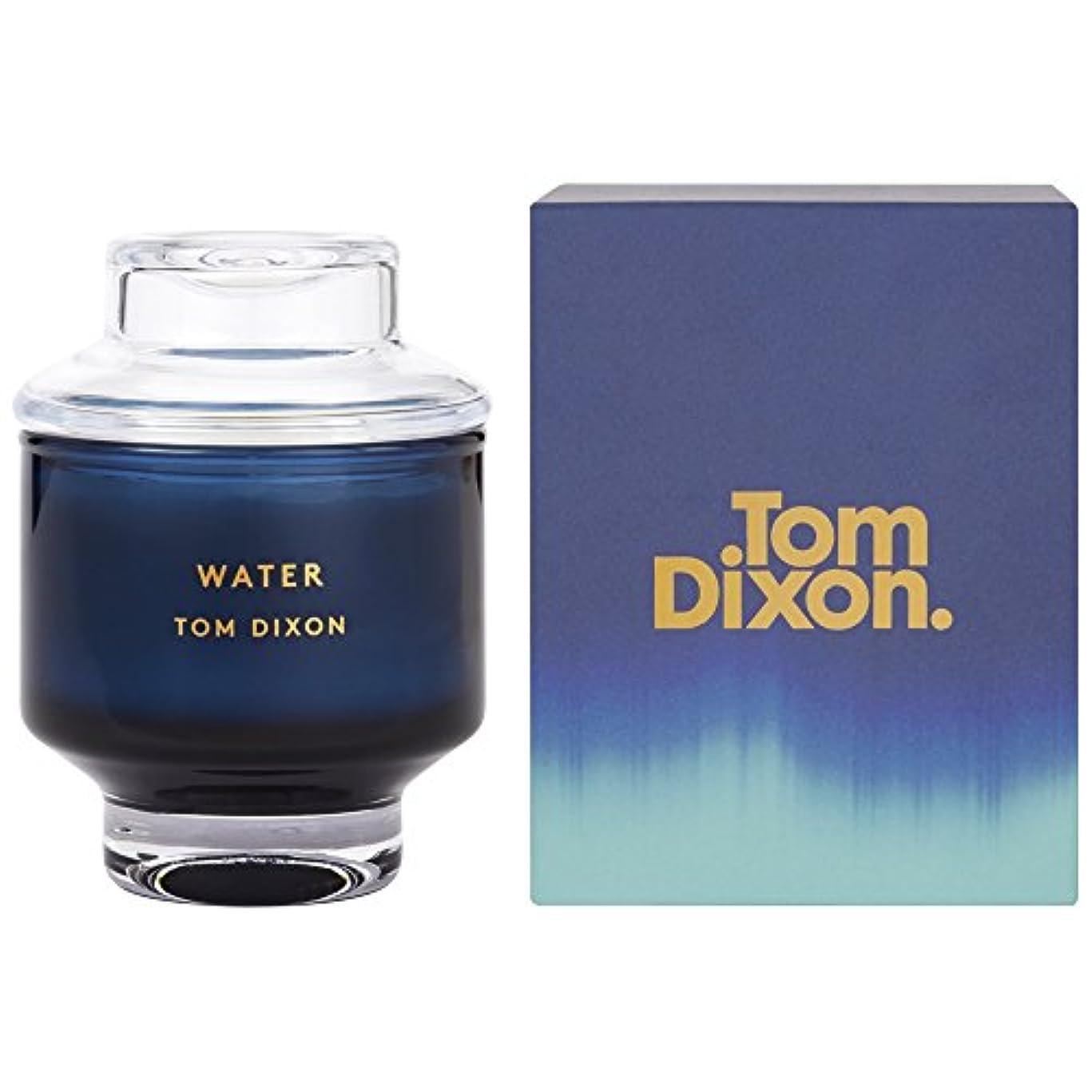 是正トマト光沢のあるTom Dixon Water Scented Candle Medium - トム?ディクソン水の香りのキャンドル媒体 [並行輸入品]