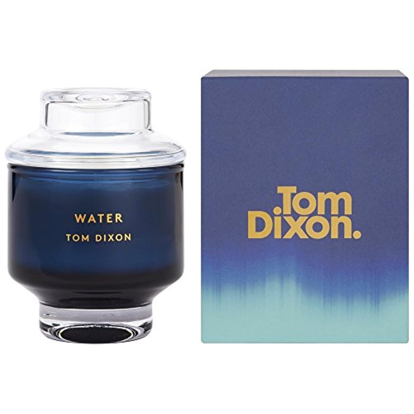 受け皿レルムシチリアTom Dixon Water Scented Candle Medium (Pack of 2) - トム?ディクソン水の香りのキャンドル媒体 x2 [並行輸入品]