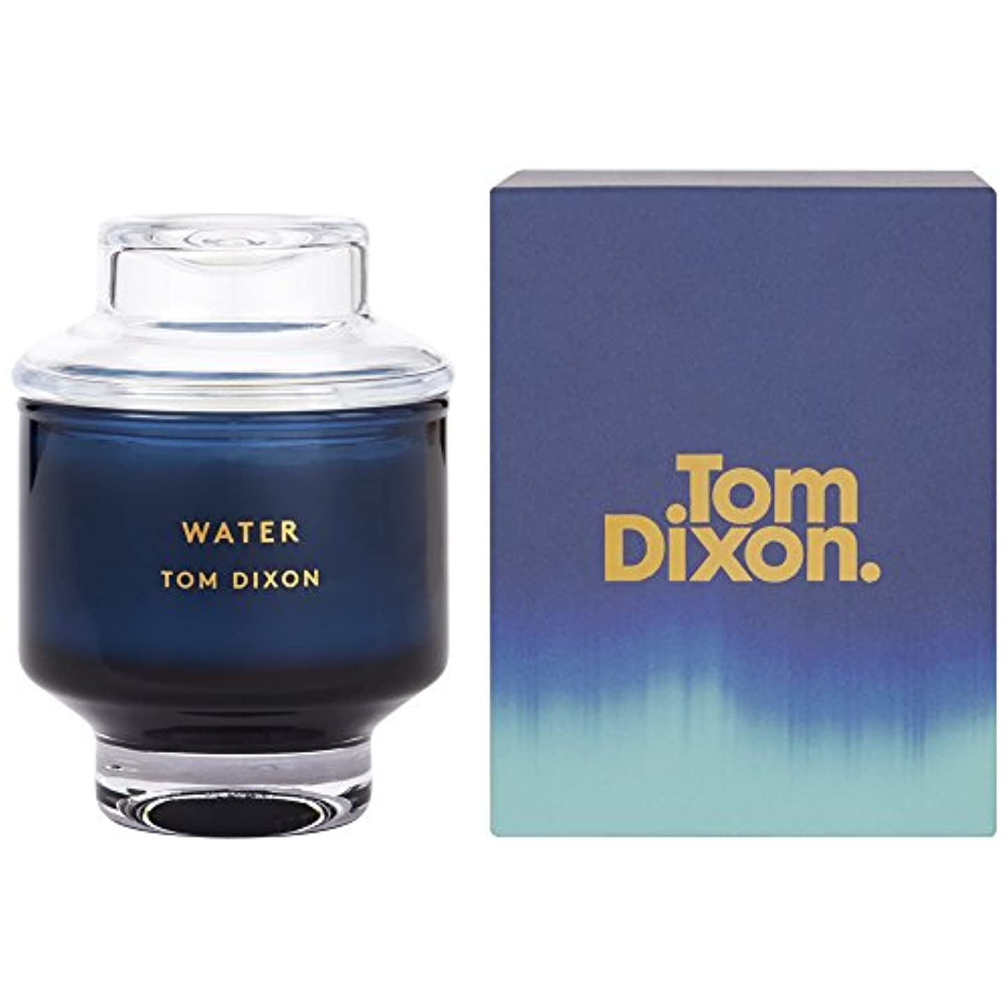 ガイダンスフォアマン絶えずTom Dixon Water Scented Candle Medium (Pack of 2) - トム?ディクソン水の香りのキャンドル媒体 x2 [並行輸入品]