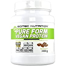 Scitec Nutrition - Post-Workout, 100% Pure Form Vegan Protein Mix - Chocolate Flavour - 450g