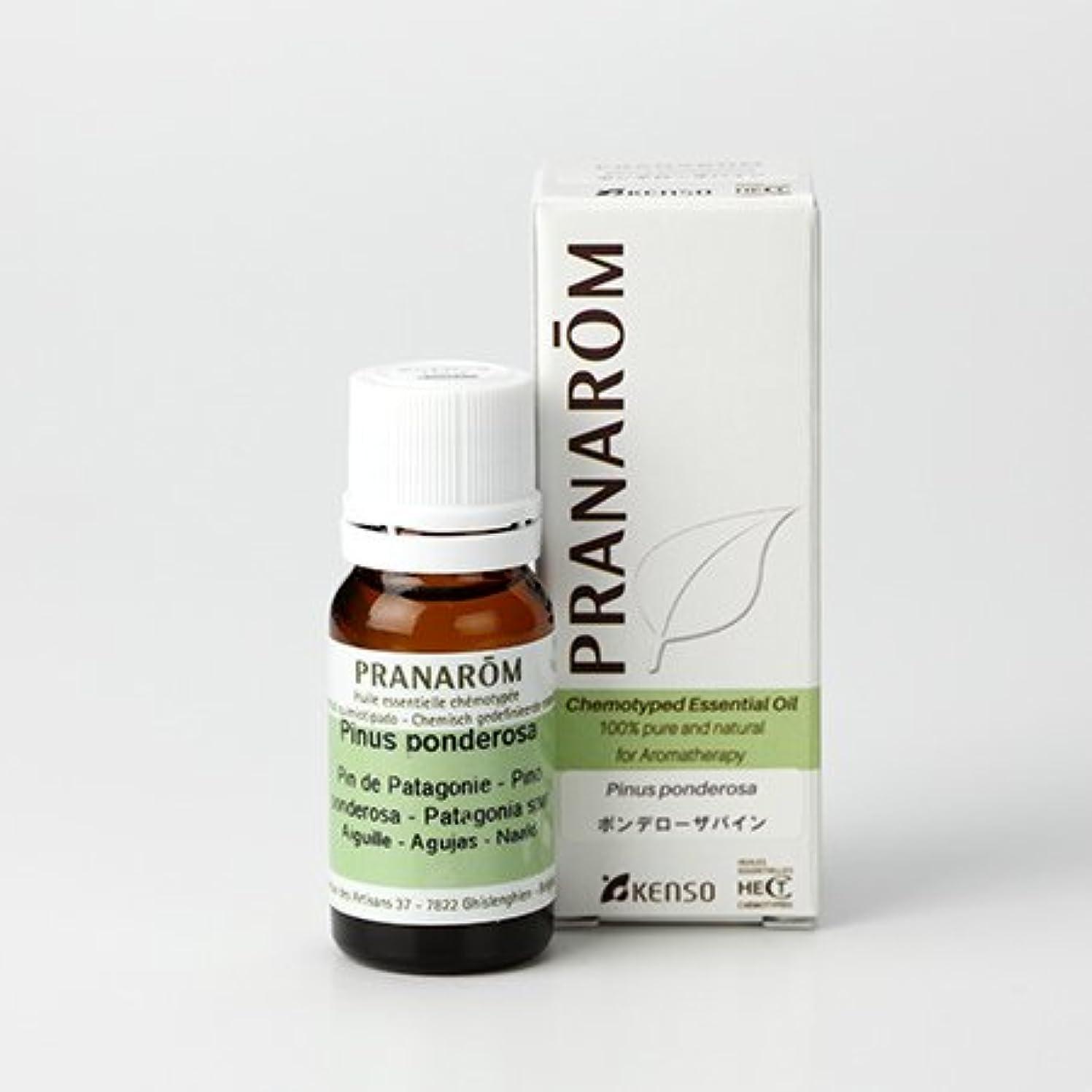 こっそり混乱させる居住者プラナロム ポンテローザパイン 10ml (PRANAROM ケモタイプ精油)