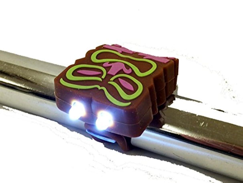 男らしさガロンティッシュ【CLEAN MOTION 自転車用ライト】 BOOGIE BUGS(シリコンライト) 湘南鵠沼海岸発信