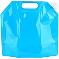 10L ウォーターバッグ 給水袋 折りたたみ式 BPAフリー 抗菌仕様 繰り返し使用 キャンプ ハイキング 家庭用 給水タンク 災害 防災 非常用給水袋 避難グッズ 青