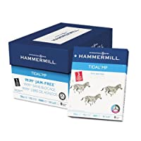 Hammermill–Tidal MPコピーパンチ紙、3穴92明るさ、20lb、Ltr、ホワイト、5000/ Ctn 16203–2( DMI Ct