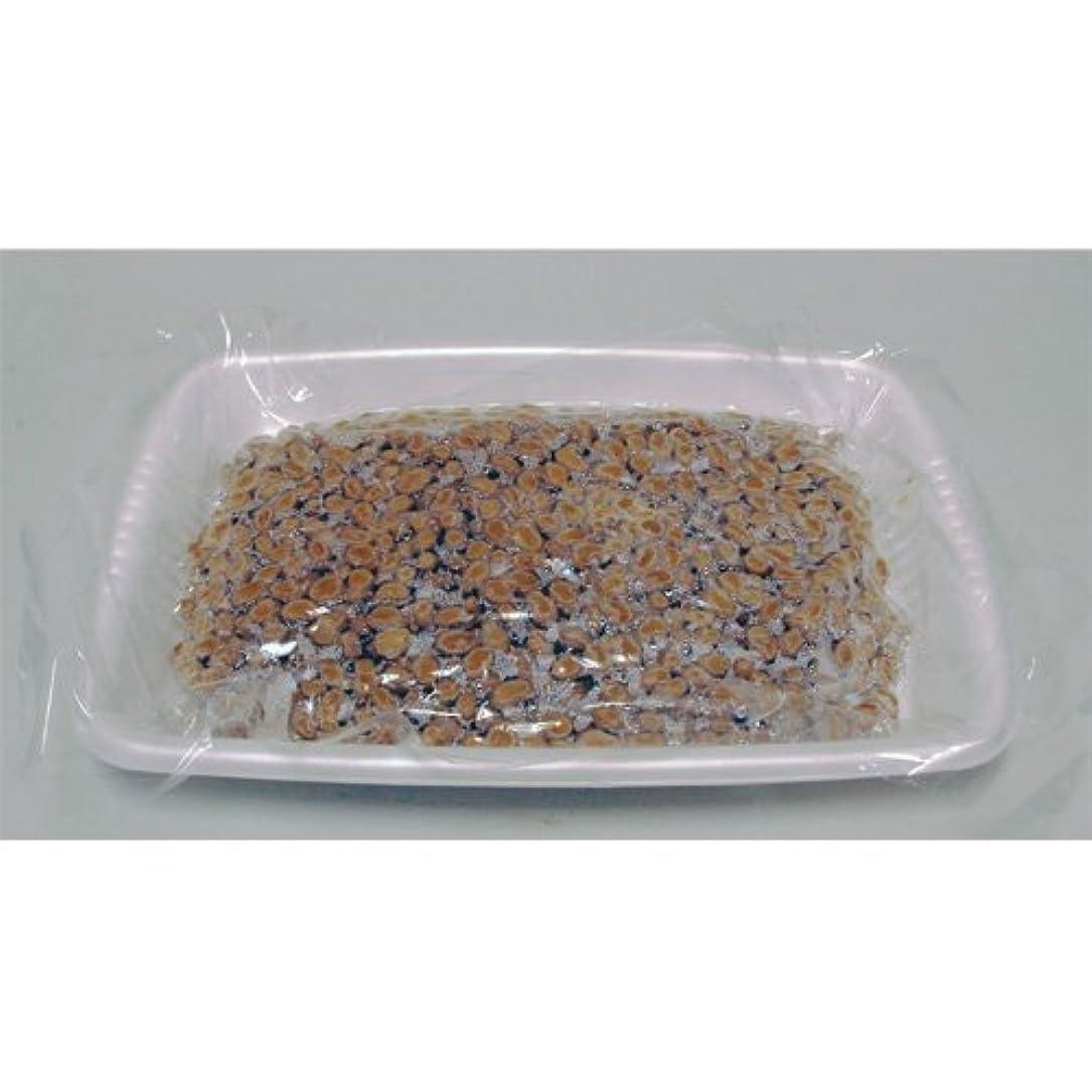 賠償寝具繁栄する《業務用》北海道産納豆小粒 3kg(500g×6)